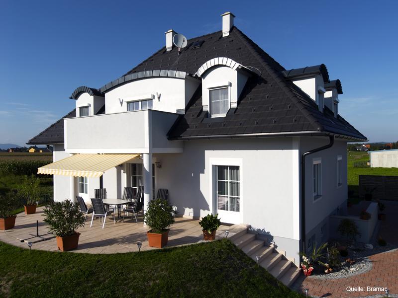steildach betonziegel sthetik steile dachneigung. Black Bedroom Furniture Sets. Home Design Ideas
